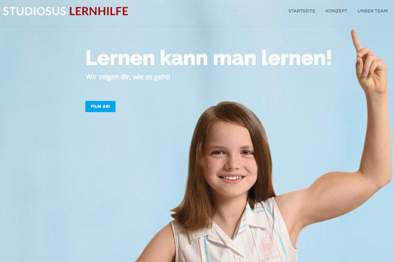 Relaunch studiosus Lernhilfe // Webdesign, Videografie