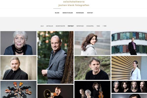 Relaunch Jochen Klenk Fotograf // Webdesign